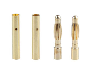 2mm Gold Bullet Connector