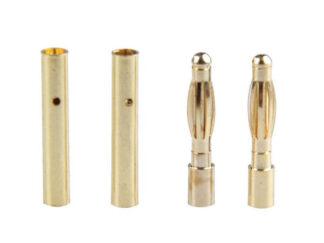2mm Gold Bullet Connector