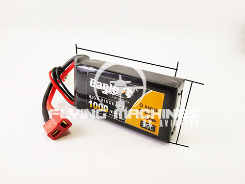 Eagle 1000 Mah 3S 35C Battery