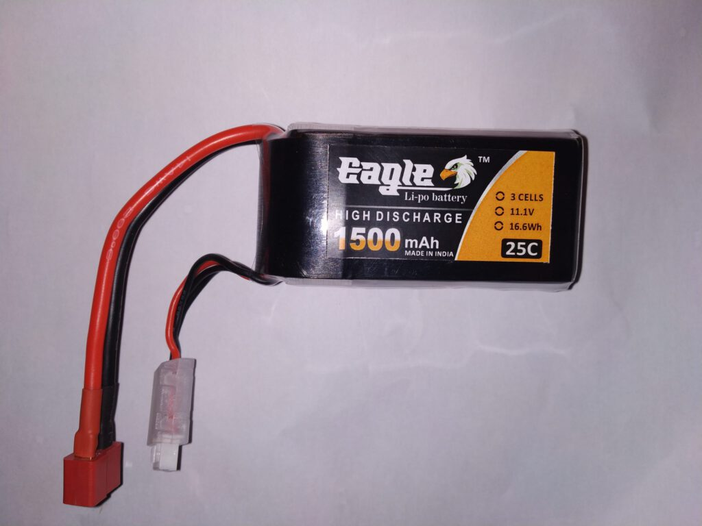 Eagle 1500 mah 2S 25C Battery