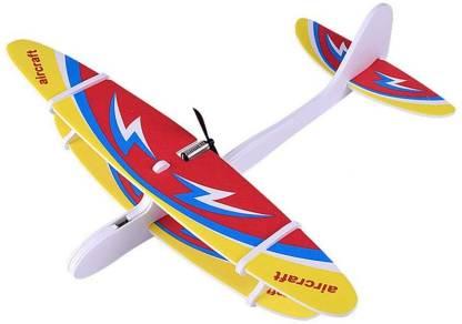 Hand Launch USB Electric Power Glider EPP Biplane
